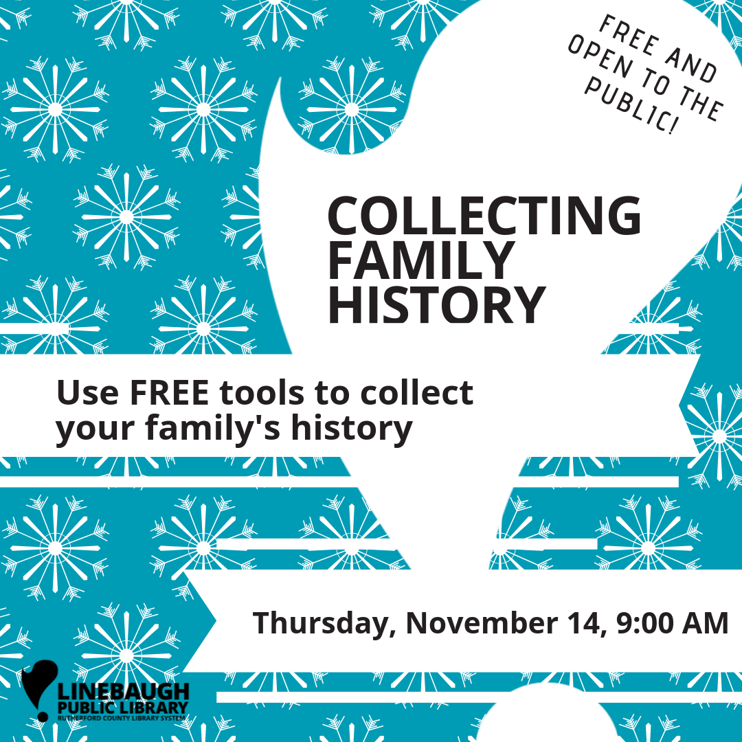 Collecting Family History