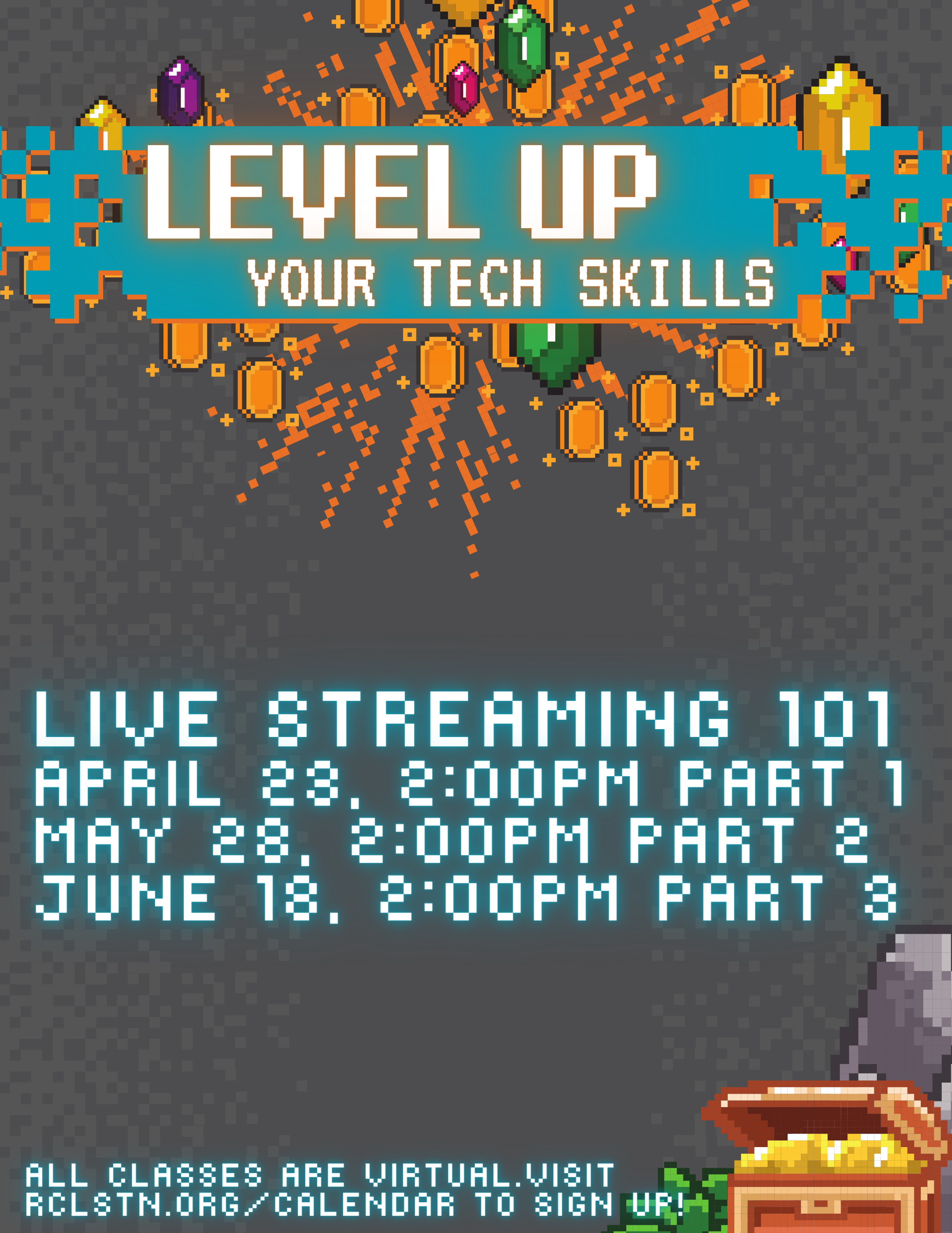 Level Up! Live Streaming 101, Part 1