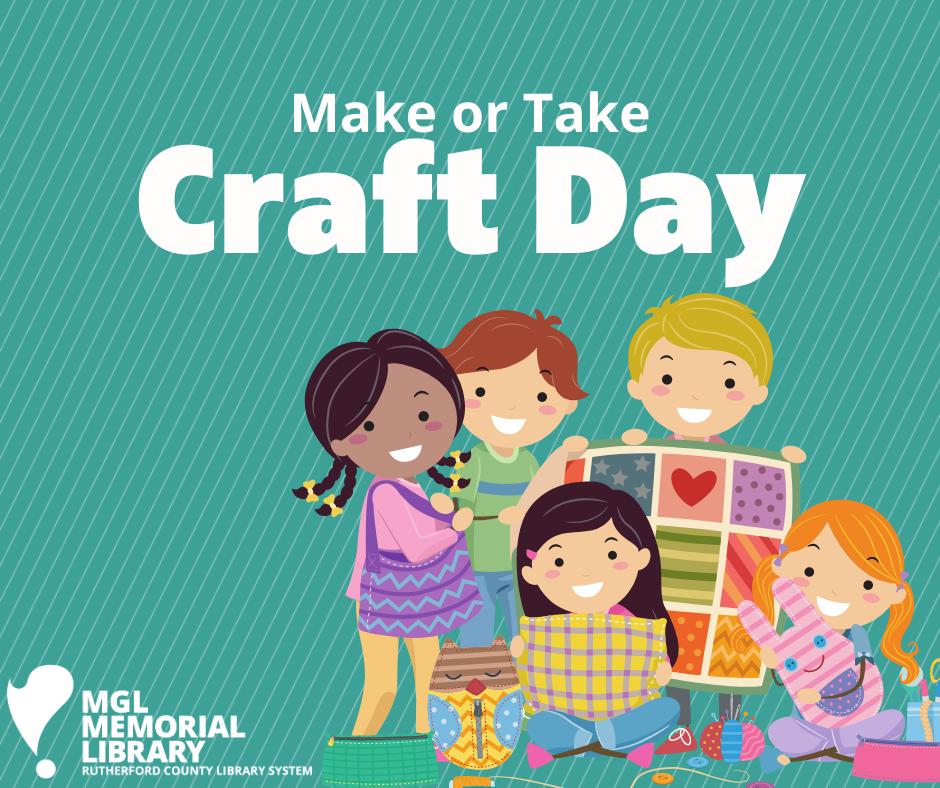 Make or Take Craft Day