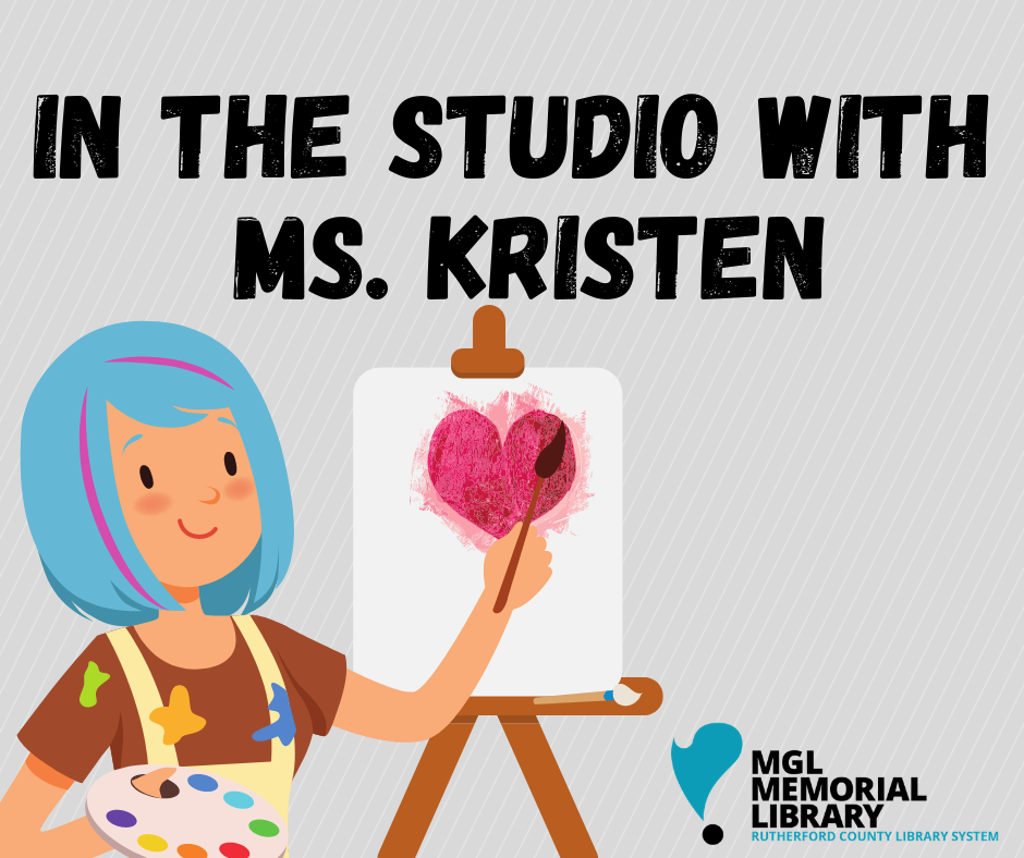 In the Studio with Ms. Kristen