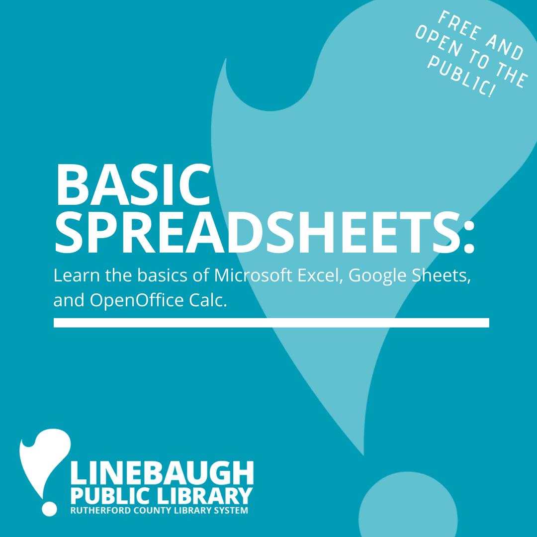 Basic Spreadsheets