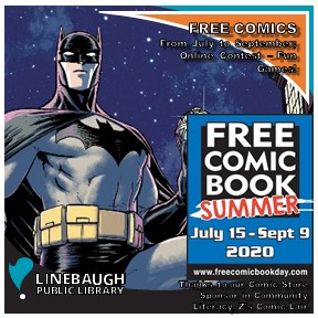 Free Comic Book Summer at RCLS!