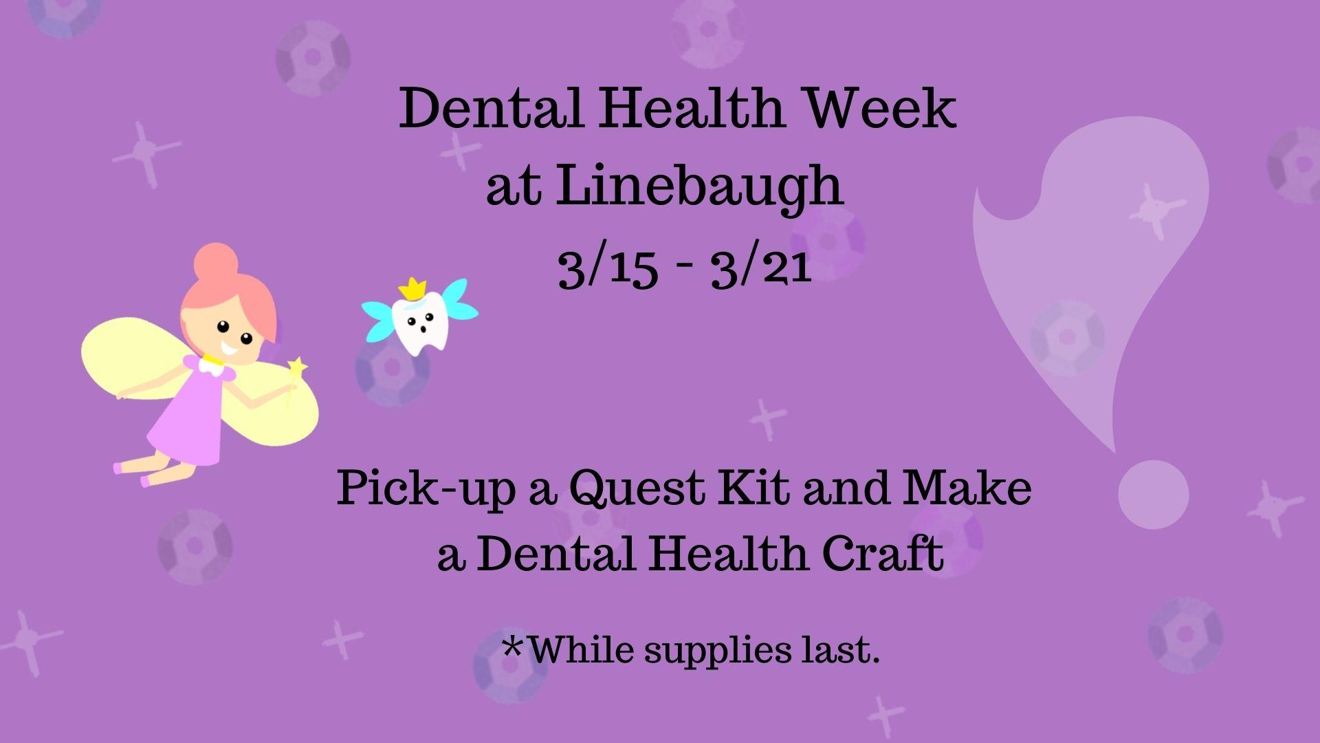 Dental Health Week at Linebaugh