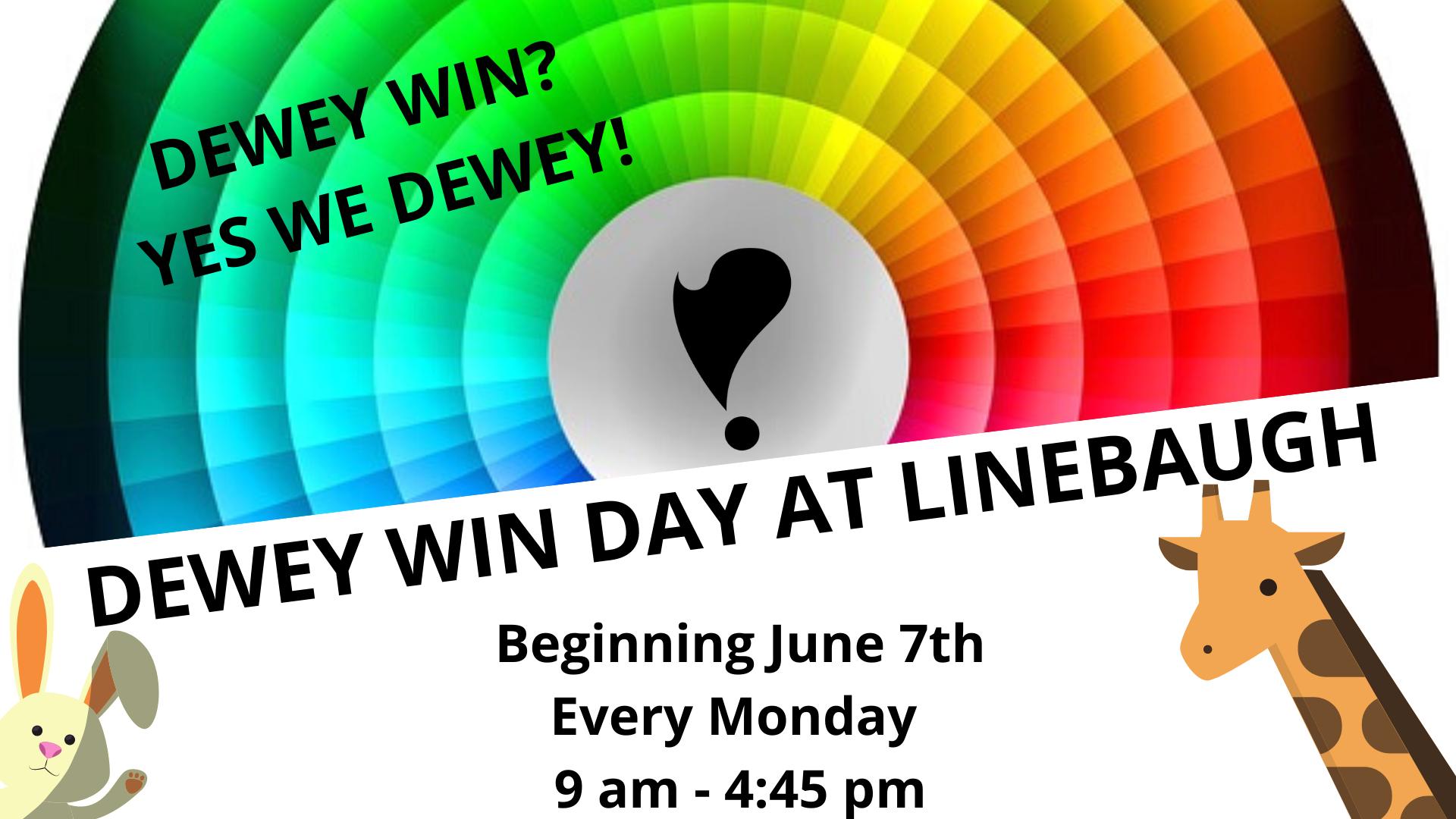 Dewey Win Day at Linebaugh