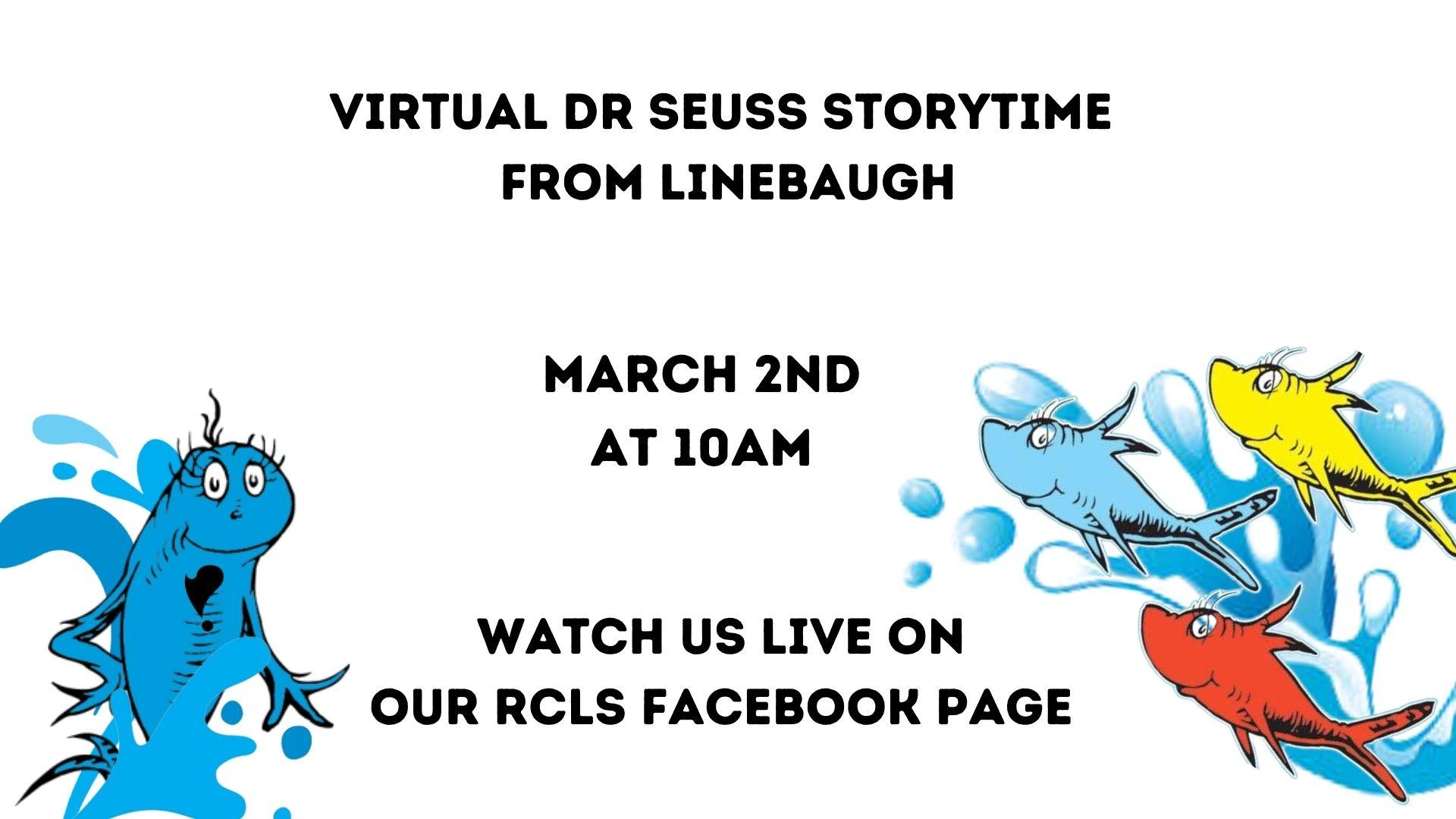Dr. Seuss Virtual Story Time