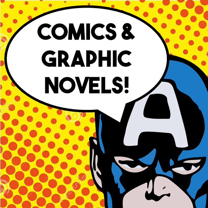 Comics and Graphic Novels Group @ Linebaugh