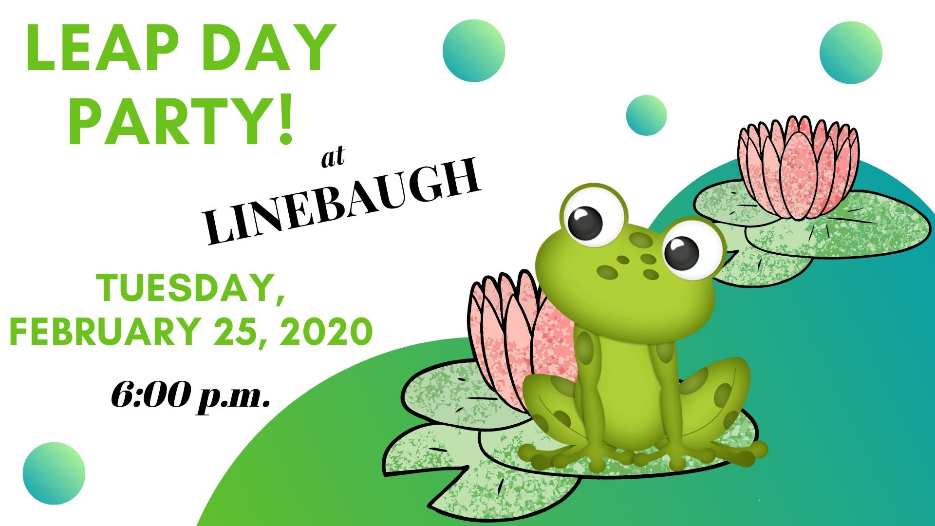 Leap Day Special Storytime Event