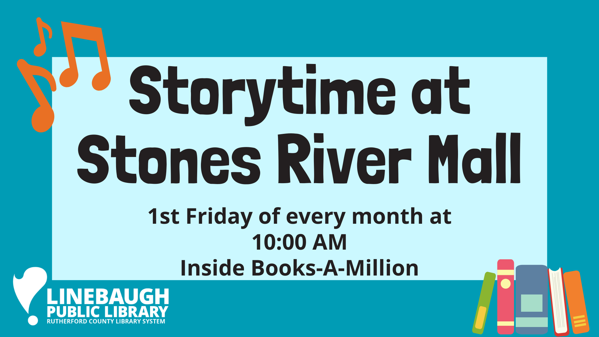 Storytime at Stones River Mall