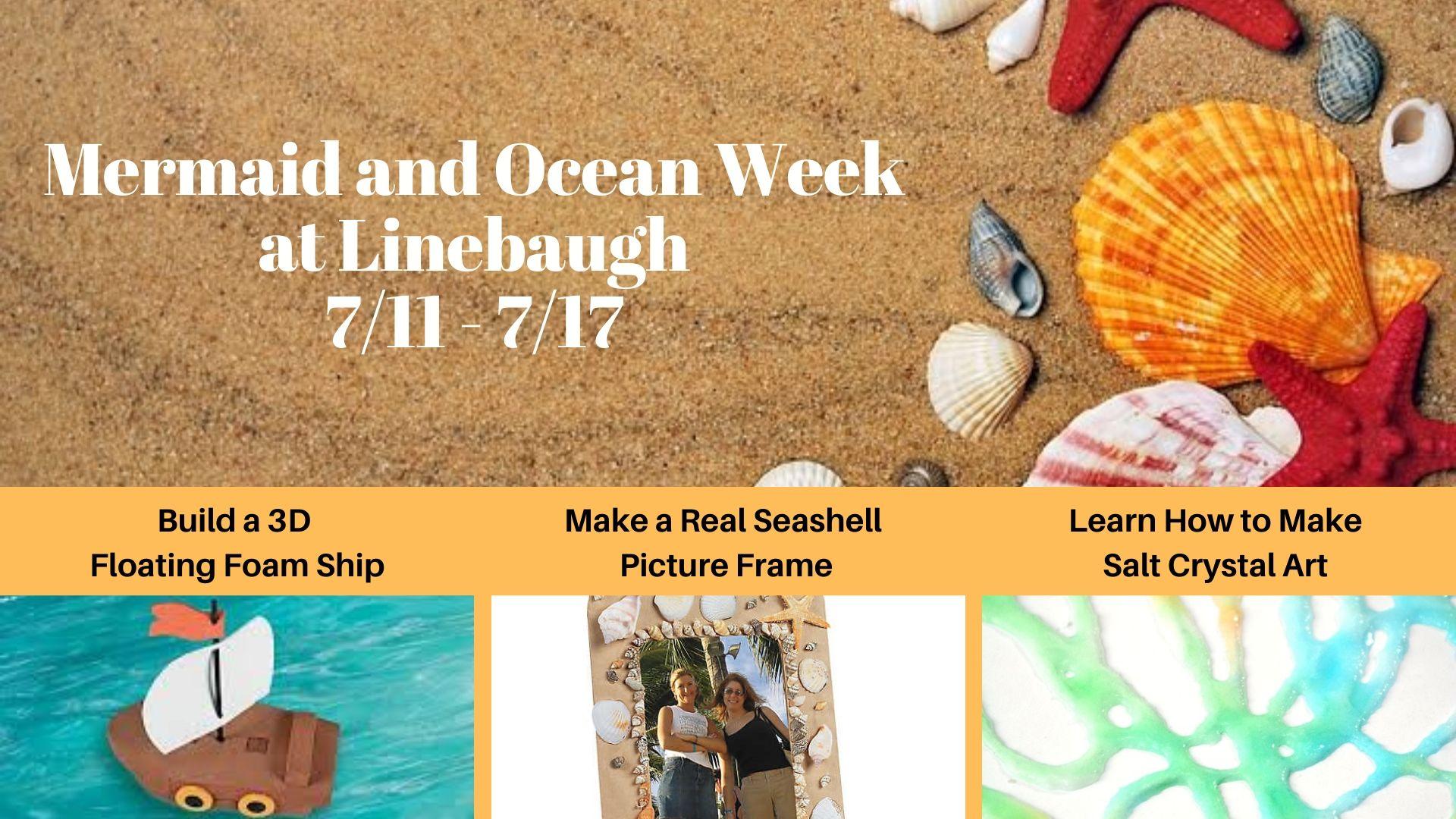 Mermaid and Ocean Week at Linebaugh