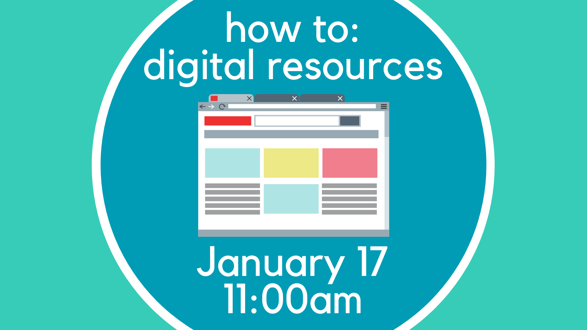 How to:  Digital Resources