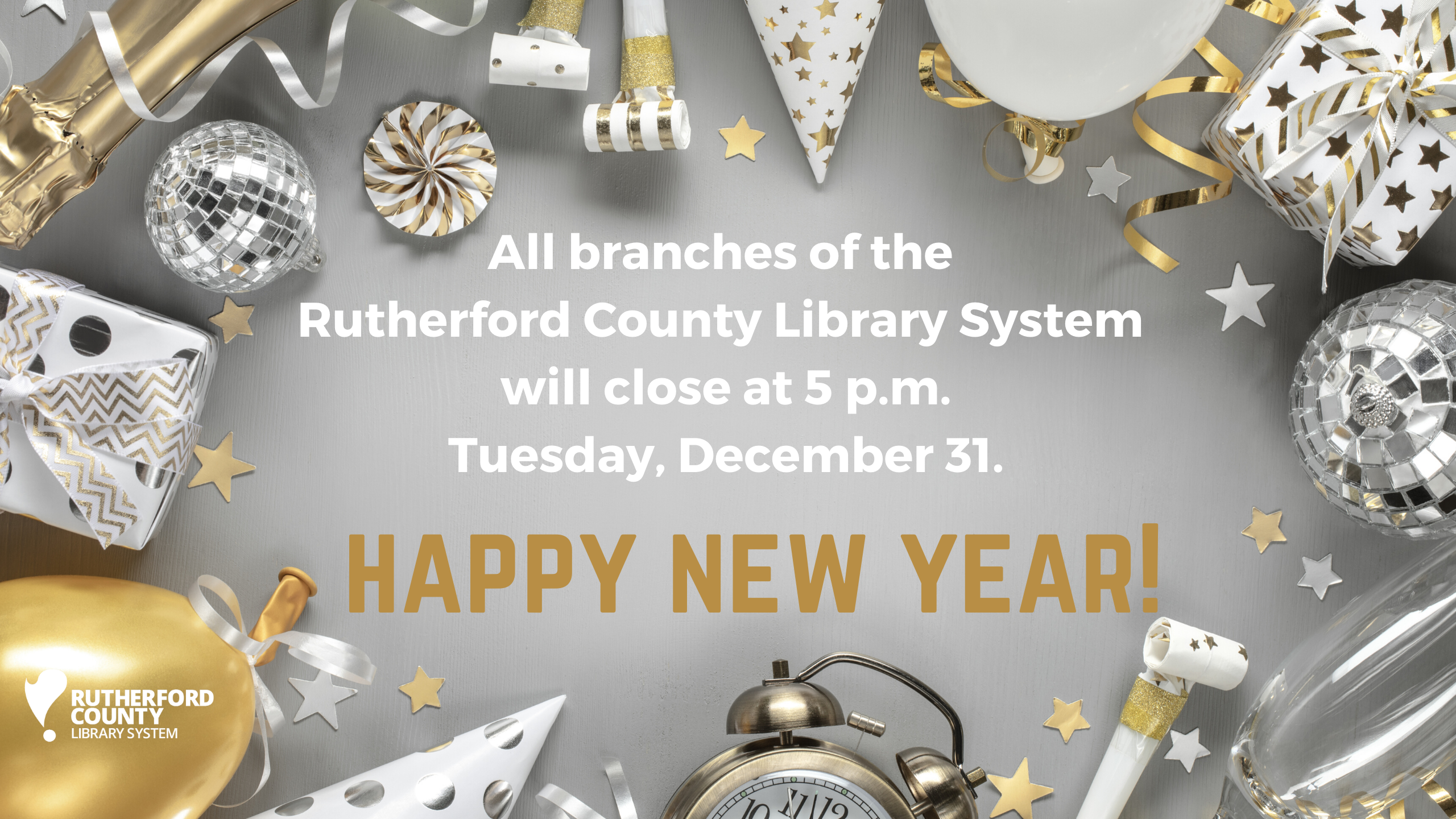 Early Closure for New Year