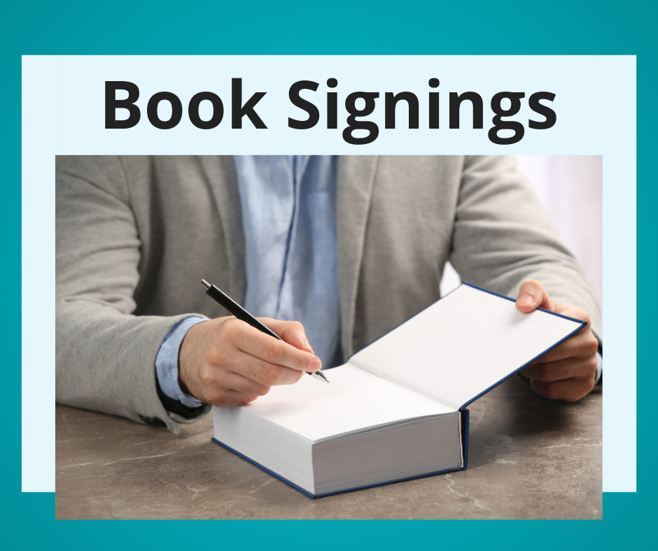 October Book Signings at Linebaugh