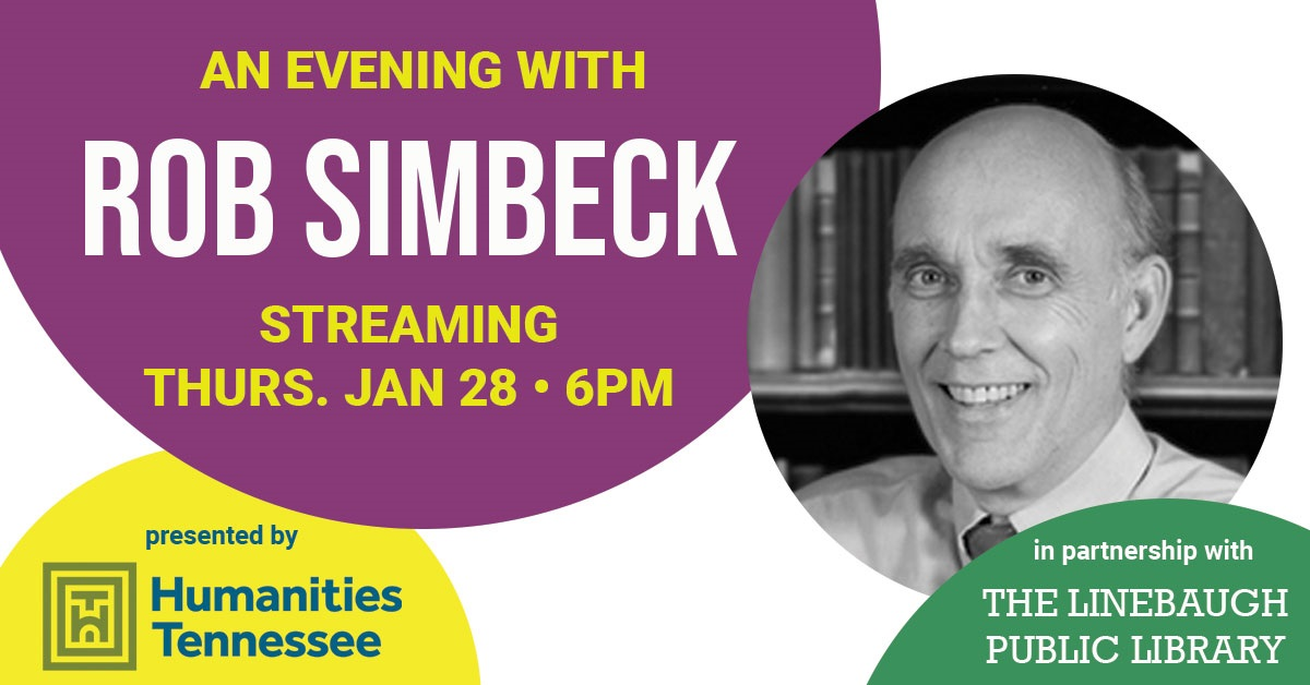Monthly Author Series Launches with Rob Simbeck