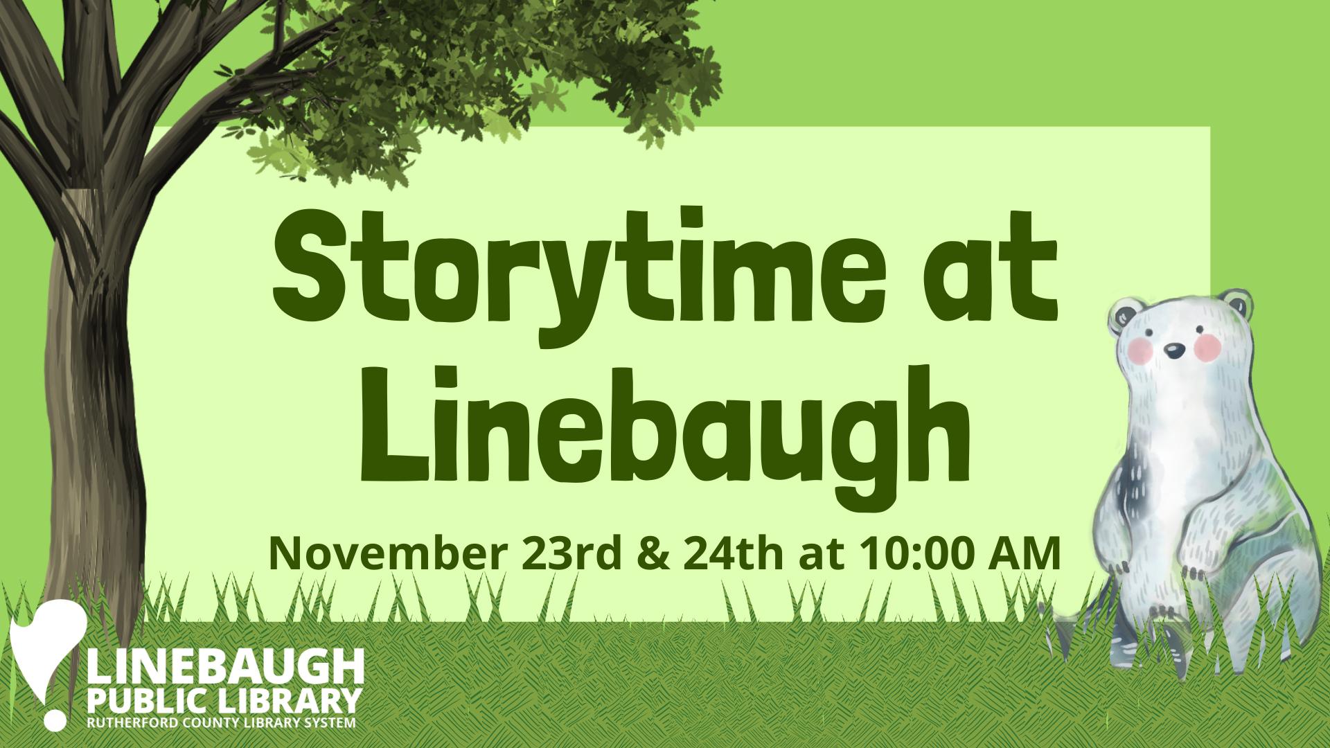 Storytime at Linebaugh
