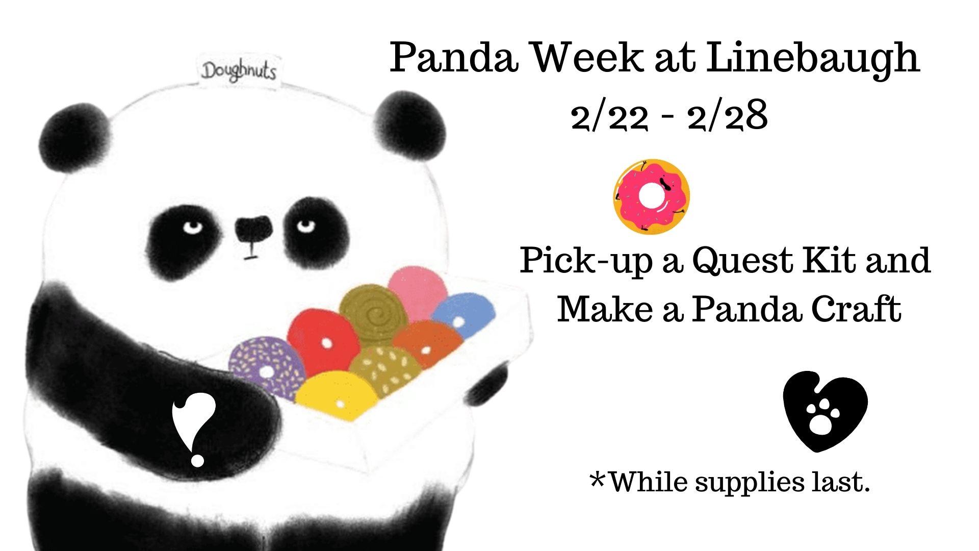 Panda Week at Linebaugh