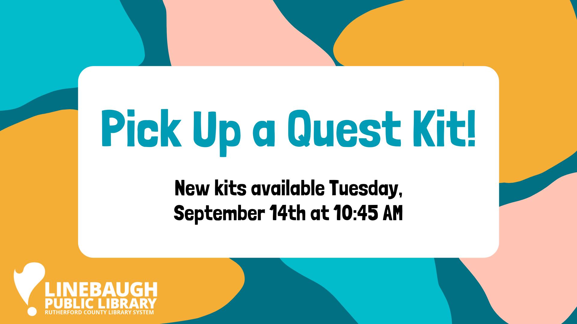 Quest Kits at Linebaugh