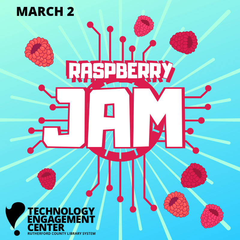 Raspberry JAM at the TEC