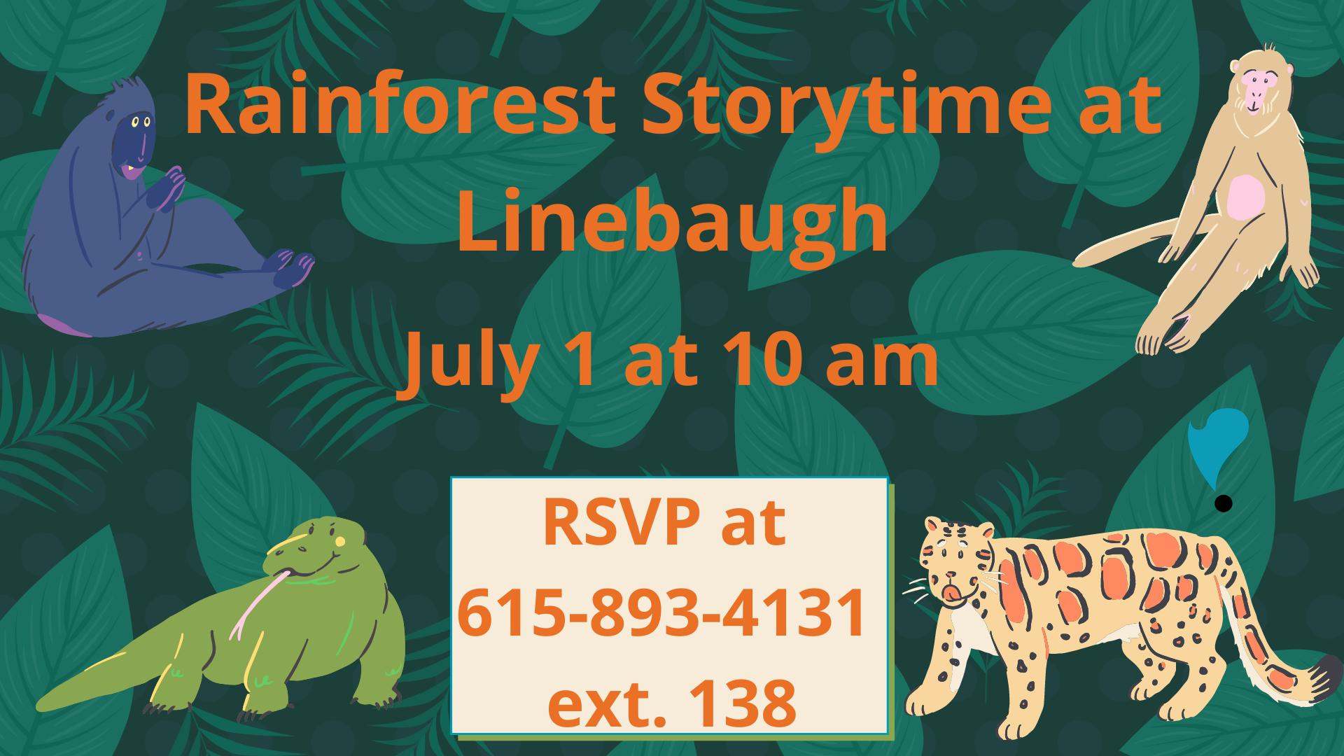 Rainforest Storytime