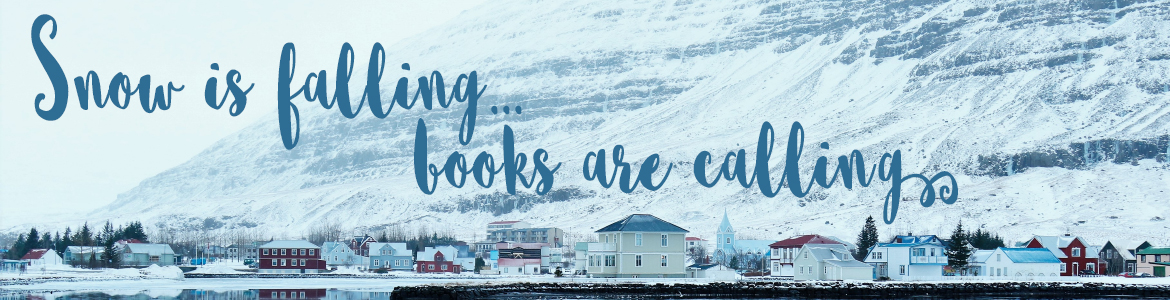 Snow is falling, books are calling.