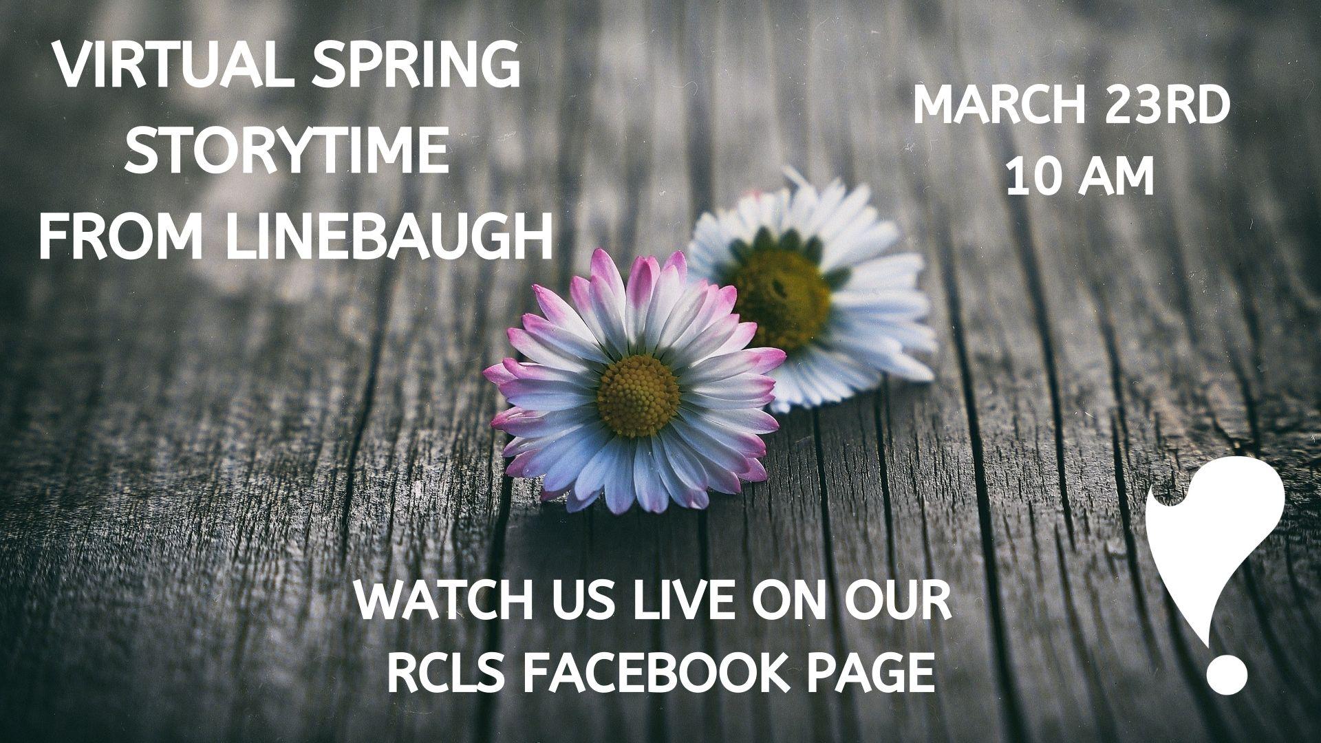 Spring Virtual Story Time