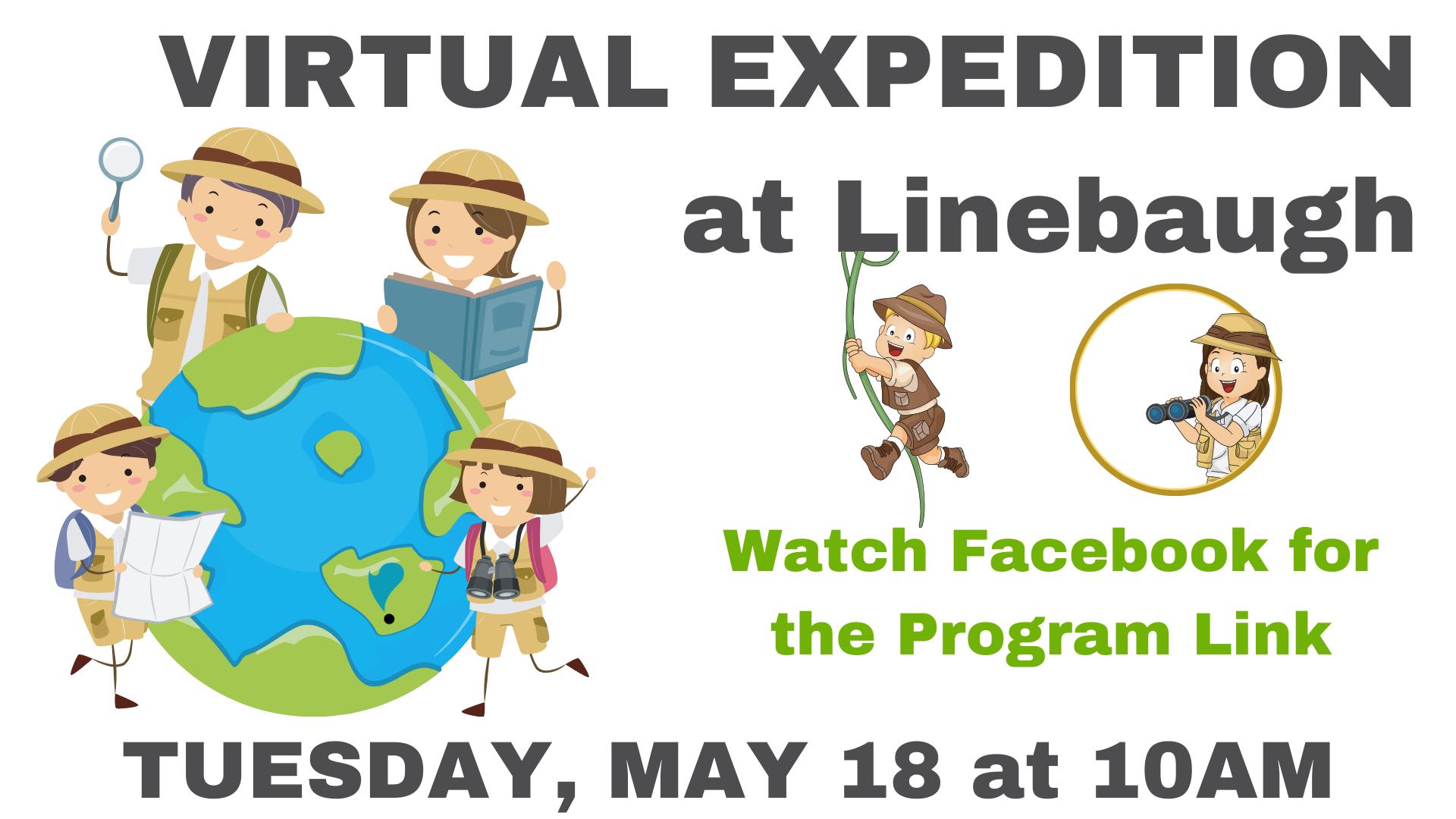 Summer Virtual Expedition at Linebaugh