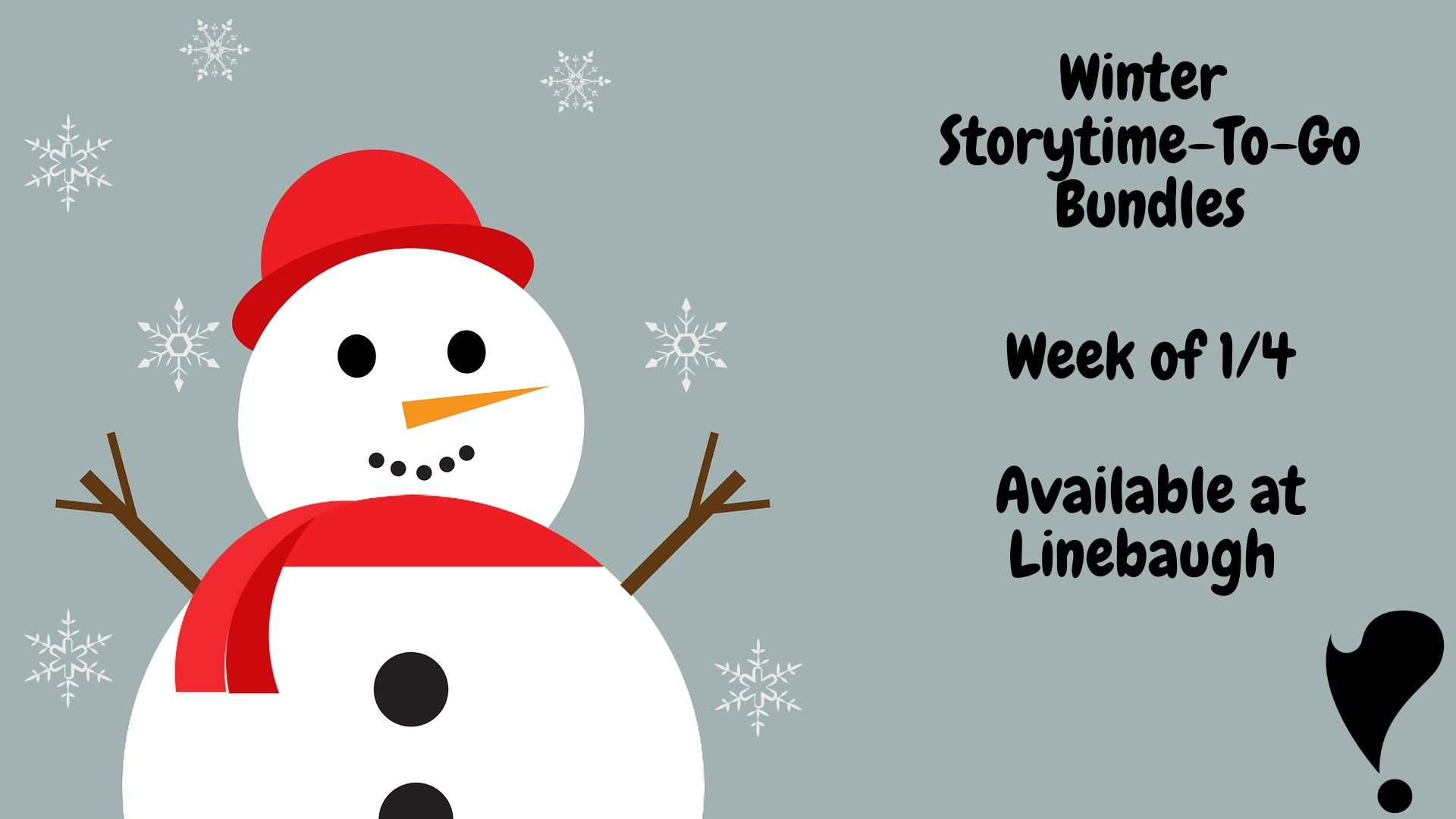Winter Storytime-To-Go Bundles