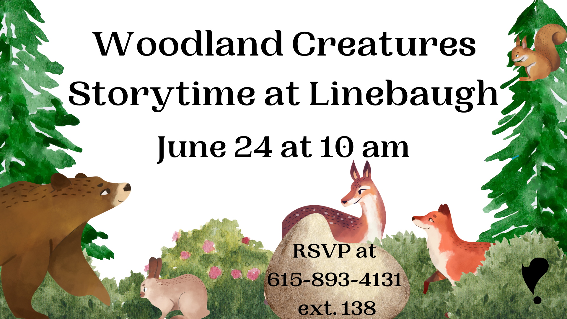 Woodland Creatures Storytime