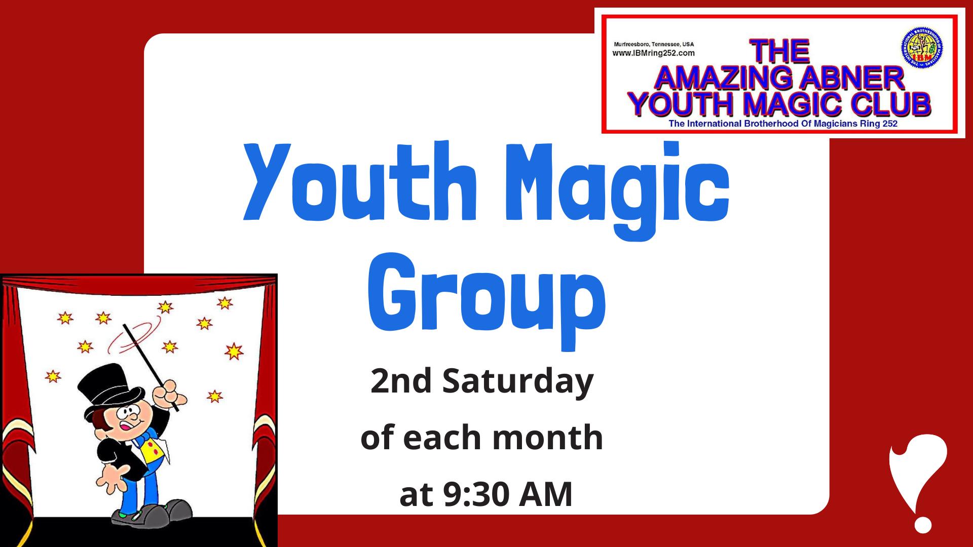 Youth Magic Group at Linebaugh
