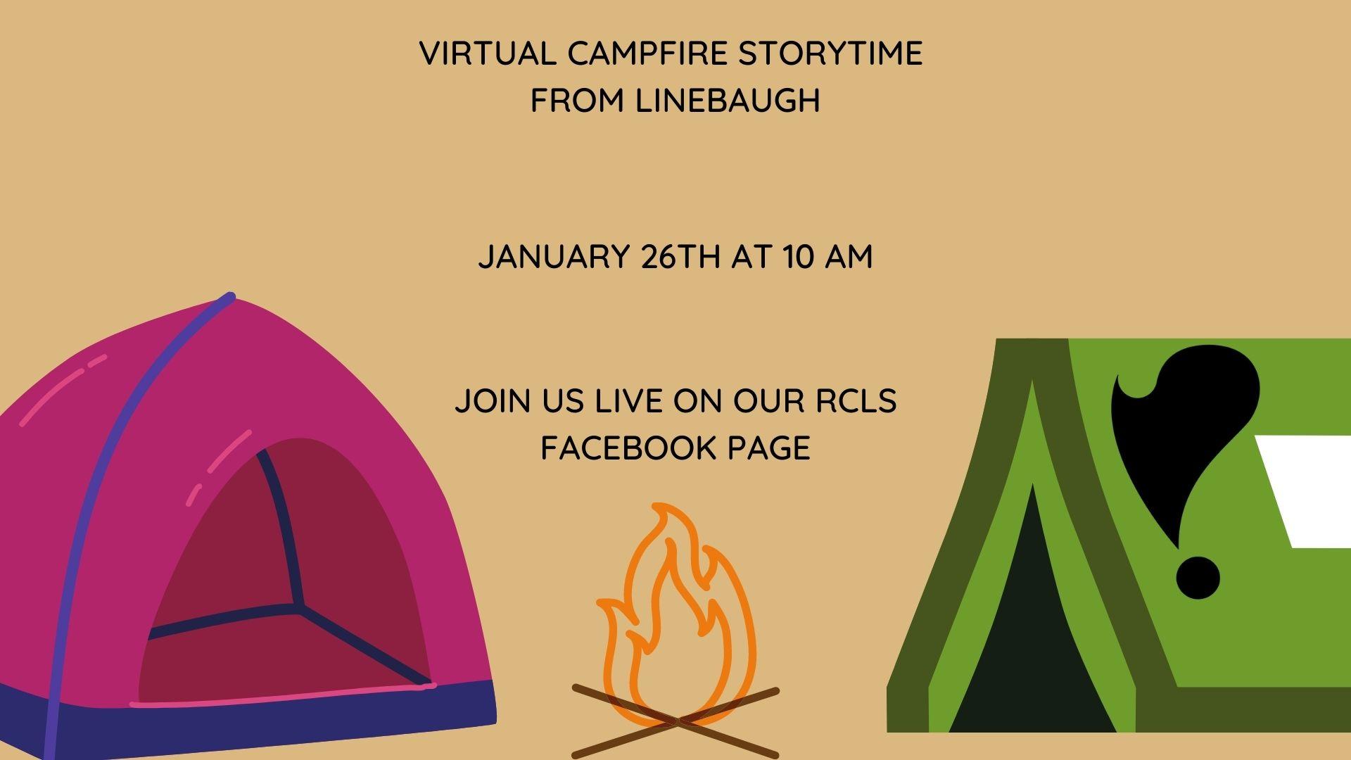 Campfire Virtual Story Time