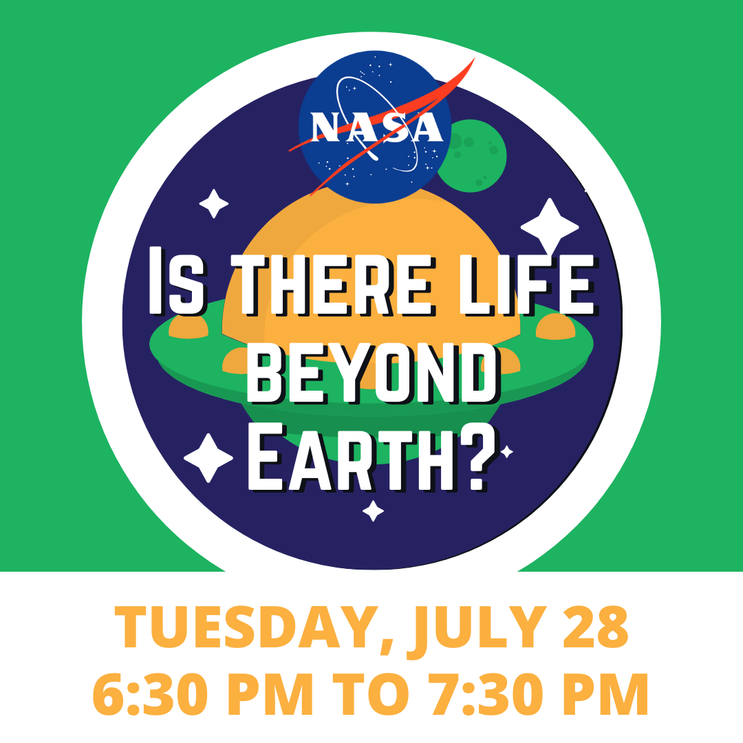 NASA YouTube Live Event; Is There Life Beyond Earth?