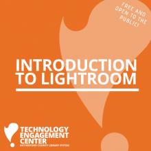 Intro to LightRoom